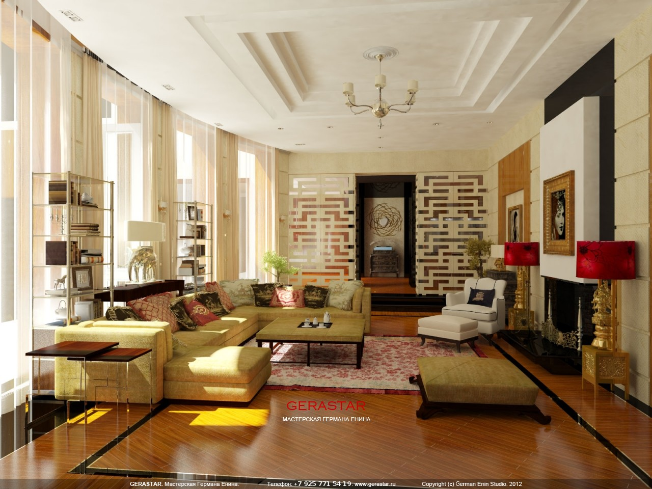 Penthouse Apartment Tony Duquette Furniture Designer